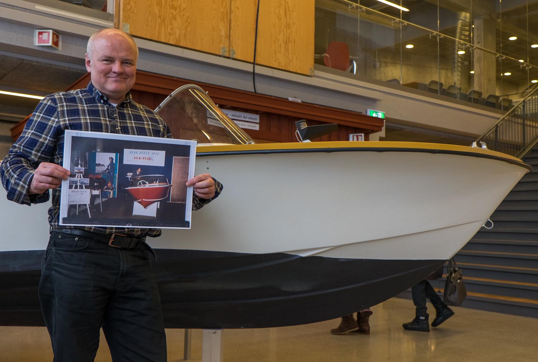 ØKNING: Tron Wigeland Nilsen kan se tilbake på et 2017 med positiv økning på mange områder.