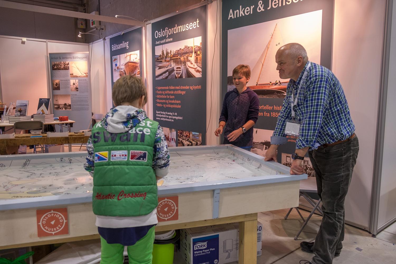 MOBILT BASSENG: Et mobilt basseng er blant annet blitt benyttet på Sjøen for alle. [Foto: Morten Jensen]
