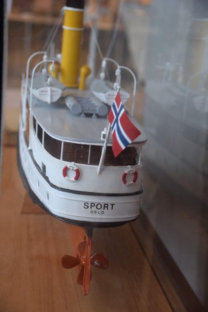 SPORT: «Sport» var en av pappabåtene som gikk i Oslofjorden på 1950-tallet.