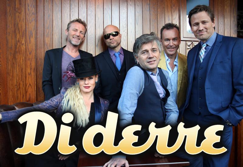 Di Derre spiller på Vollen Marina 26. mai 2018.
